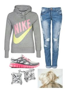 Comfy Nike Outfit #LazyDay