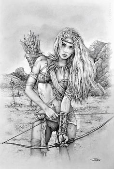 find this pin and more on dd barbarians eastern dd pathfinder warrior by arantza sestayo fantasy coloring pages