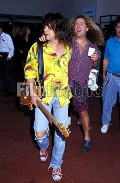 VH2 Van Halen 2, Eddie Van Halen, Sammy Hagar, Rock, Music, Style, Fashion, Musica, Swag