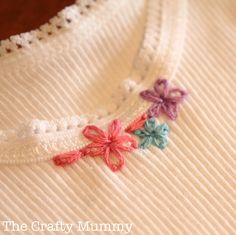 How to Stitch a Lazy Daisy - And Sew We Craft