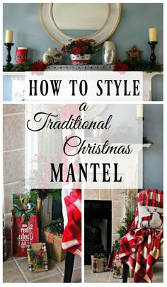 Tips To Styling A Traditional Christmas Mantel For Less - Page 2 of 31 - Easy Hairstyles Christmas Mantels, Christmas Wreaths, Christmas Decorations, Holiday Decor, Holiday Ideas, All Things Christmas, Kids Christmas, Christmas Crafts, Merry Christmas