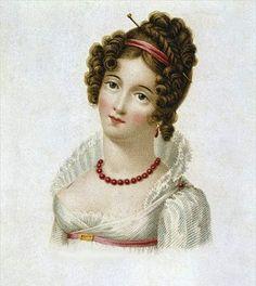 Regency Hairstyle.