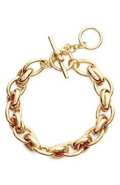 kate spade new york 'how charming' chain link bracelet available at #Nordstrom