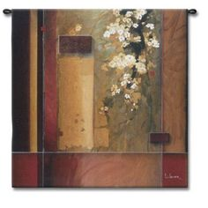 Fine Art Tapestries Summer Bloom - Li-Leger, Don - 2874-WH
