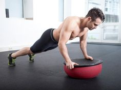 Skip the crunches. Balance and stabilize on the BOSU ball to sculpt your core and tone your muscles. Give these five moves a try.