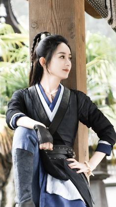 Pretty Asian Girl, Beautiful Chinese Girl, Cute Korean Girl, Beautiful Asian Women, Traditional Fashion, Traditional Outfits, Xman Marvel, Female Samurai, Princess Agents