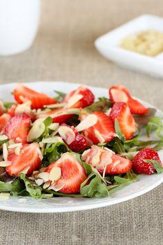 Strawberry-Balsamic Salad with Arugula Recipe