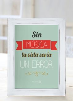 Frases on pinterest amor tes and hay - Cuadros de frases ...