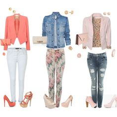 I'm lovein the blazers/jacket, created by camille-reynolds on Polyvore