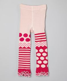 Love this Pink Dots & Stripes Tights - Infant, Toddler & Girls by Naartjie Kids on #zulily! #zulilyfinds