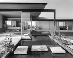 Richard Neutra's Singleton House, L.A. 1958