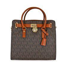 6d353059e0be Michael Kors Hamilton Large Logo Tote in Brown Buy Handbags Online,  Computer Bags, Mk