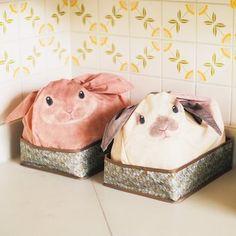 YOU+MORE! ごちゃごちゃ小物をまとめて隠す rabbitを飼っている気分の収納ケースの会 | FELISSIMO