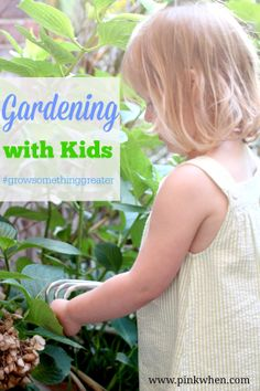 Grow something greater, garden with your kids! #growsomethinggreater