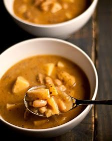 Agnese Italian Recipes: Healthy Italian potato soup and beans recipe