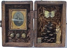 life in a box lunchbox sculpture assemblage project - Google Search