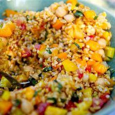 Summer Farro Salad Recipe