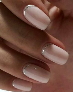 Beautiful simple nail art designs 2019 nailcare we offer the best tools to ge 30 good manicures to undertake this fall manucure ongles vernis magnificence adopt beauty fall manicures manucure nice ongles vernis Natural Nail Designs, Simple Nail Art Designs, Toe Nail Designs, Easy Nail Art, Simple Nail Arts, Chic Nail Designs, Cute Simple Nails, Nail Polish Designs, Nagellack Design