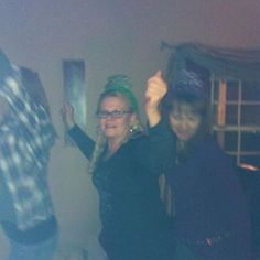 Me & my girlfriends dancing