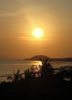 Enjoy a spiritual retreat at #Kamalaya in Thailand and experience the sun setting over this idyllic landscape