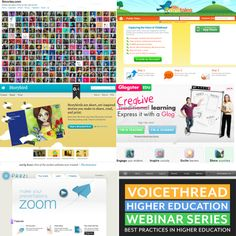 E is for Explore!: WEB 2.0 TOOLS lots of ways to use technology in the classroom