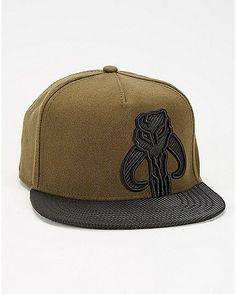 241fe3bc650 Star Wars Green Mandalore Snapback Hat Boy Boy