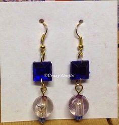 Handmade Jewelry |Beaded handmade earrings
