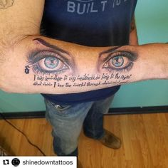 #Repost @shinedowntattoos @Shinedown Tattoo submitted by Chip Wolny #ShinedownTattoos #DiamondEyes #shinedown #shinedownink Barry Kerch Brent Smith Eric Bass Shinedown Shinedown Nation Shinedowns Nation Zach Myers