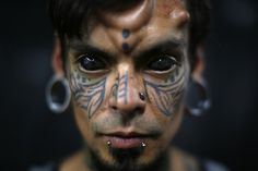 Tattoo and body-modification artists descended on Caracas, Venezuela, last week for a four-day festival aimed at spreading awareness of the extreme art forms.