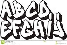 Image result for graffiti lettering styles examples