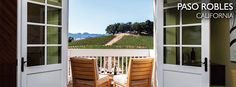 Featured Region: Paso Robles, CA Read our article on Paso Robles B&B and Inns among the vines. #Wineries to watch in #Paso : @brokenearthwine, @levignewinery, HammerSky Vineyards and Inn, Hope Family Wines, Vina Robles Winery