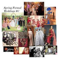 """""""Spring Formal Weddings #7"""" by yxtabay ❤ liked on Polyvore featuring vintage"""