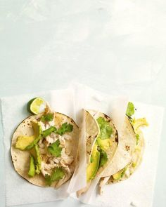 Roasted Chicken Tacos Recipe --- Great way to use leftover chicken