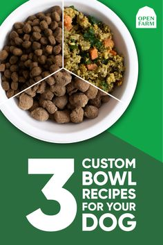 Our premium quality recipes are packed with the world's best and most nutritious ingredients. With a variety of options from Freeze-Dried Raw to Gently Cooked to Dry Food, there are endless customizable options to build the perfect bowl for your dog. Level up your pet's food today with Open Farm! Homemade Dog Treats, Healthy Dog Treats, Doggie Treats, Cat Treats, Dog Biscuit Recipes, Dog Treat Recipes, Raw Food Recipes, Best Puppy Food, Dog Food Bowls