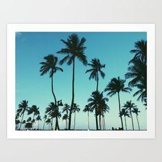 Palm+Trees+Art+Print+by+Whitney+Retter+-+$15.00