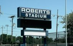 the old roberts stadium in evansville was replace by the Ford Center-- #IndianaMustSee