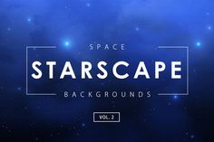 Space Starscape Backgrounds Vol. 2 by M-e-f
