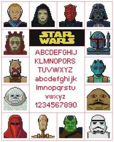 Star Wars Sampler Pattern by KeenahsCrossStitch