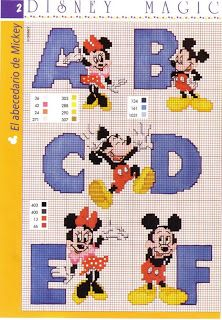 Mickey and Minnie Mouse ABC