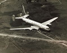 The first flight of the Douglas DC-4E (June 7, 1938)