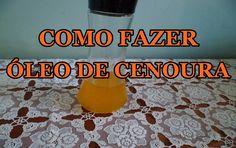 Como fazer Óleo de Cenoura (Oleato) Para Nutrição e Hidratação Capilar F...