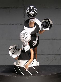 Costume Total, begun in 2006, is a joint project of the two visual artists, Alexander Györfi and Peter Holl.