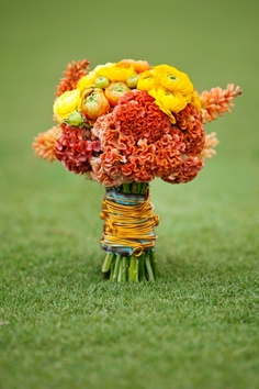 Ranunculus, Celosia, Cobra Torch Lilly  adornedfloral.com (Image courtesy of nolenphotography.com)
