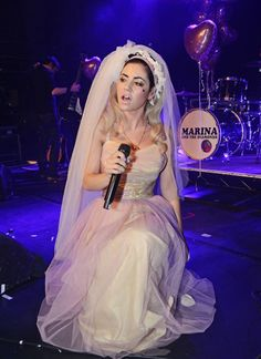 Marina Lambrini Diamandis // Marina and the diamonds // The family jewels // Electra Heart // Froot Stage Outfit, Lambrini, Electra Heart, Indie, Marina And The Diamonds, Lonely Heart, Guess, Sabrina Carpenter, Forever