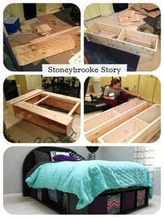 Homemade bed
