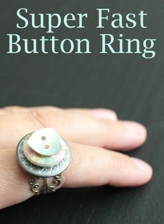 Super fast button ring
