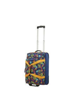 Barevná taška s kolečky a parametry příručního zavazadla Tropical Leaves, Notebook, The Notebook, Exercise Book, Notebooks