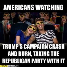 Funny Donald Trump Memes and Viral Images: Crash and Burn