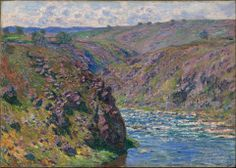 Claude Monet, Valley of the Creuse, Sunlight Effect, 1889.