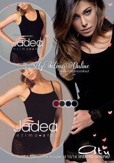 Maglie donna Jadea. Nuovi colori moda. #jadea #moda #maglie http://www.atyintimoonline.it/81-maglie-donna